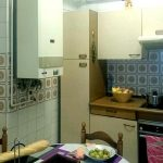 Cocina antes de la reforma de Artea Sukaldeak