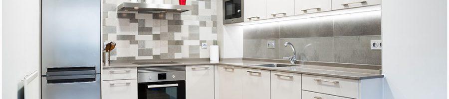 Una cocina con total aprovechamiento del espacio